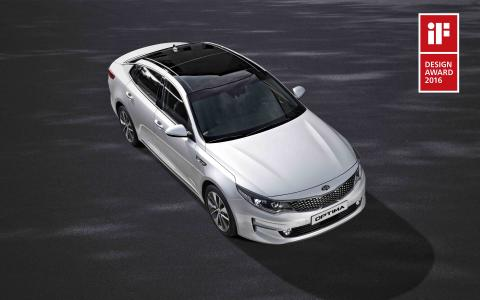 iF Design Award 2016 till Kia Optima
