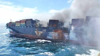 MSC Flaminia fire spreads