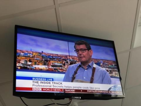 Professional Secrets Showcased on BBC Business Live TV News Programme