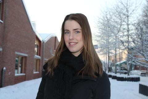 Alxandra Andersson- Wikström forskare VA- teknik, vid Luleå tekniska universitet