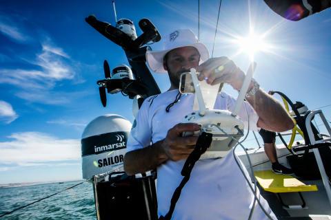 Inmarsat connectivity helps deliver BT Sport Industry Award for The Ocean Race