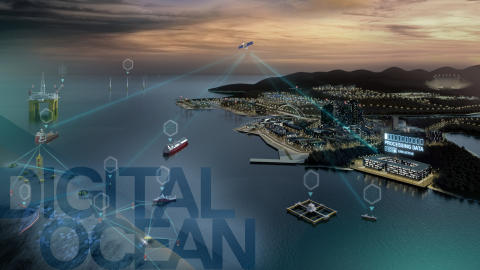 Kongsberg Maritime: KONGSBERG to Detail the 'Digital Ocean' at Oceanology International 2018