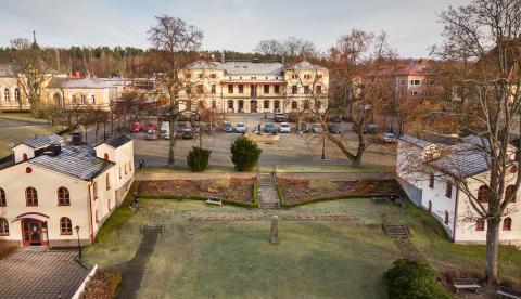 Rådhustorget i Lindesberg