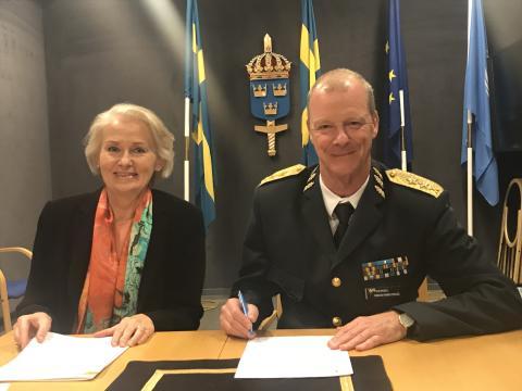 Försvarsmakten och Sodexo tecknar avsiktsförklaring kring kompetensförsörjning
