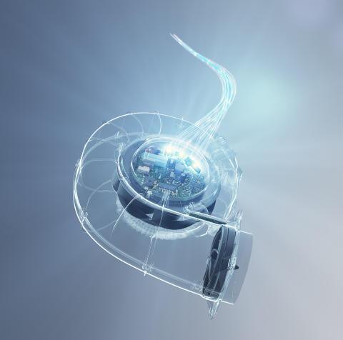 ebm-papst utökar serien med RadiCal-fläktar för tysta och energieffektiva ventilationsaggregat