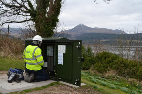 Local businesses welcome a fibre broadband boost on Arran