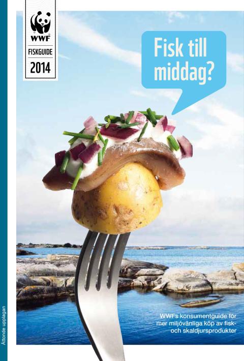 WWFs fiskguide 2014: Rött ljus för västkusträka och stenbitsrom