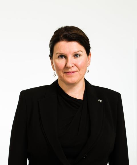 Kari Sollien - sentralstyremedlem og leder i Allmennlegeforeningen