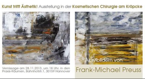 Kunst trifft Ästhetik - Kunstausstellung in der Kosmetischen Chirurgie am Kröpcke