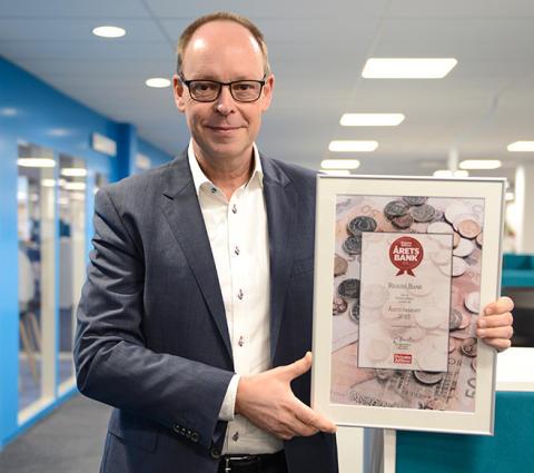 Resurs Bank tildeles prisen «Årets bankapp» av det svenske bransjemagasinet Privata Affärer