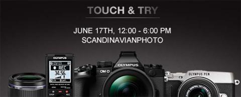 Olympus demodag hos Scandinavian Photo i Stockholm tisdag 17/6!