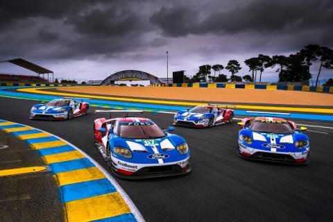A Ford Chip Ganassi Racing felkészül, hogy megvédje Le Mans bajnoki címét