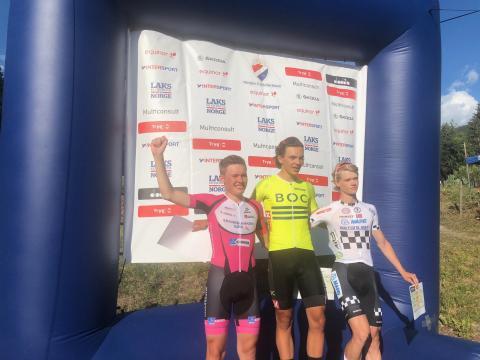 Tour de Hallingdal - etappe 1 (NC 4): Seier til Lutro, Brein, Gåskjenn og Hoelgaard i første etappe