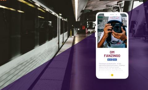 STÖK lanserar ny webbsida för mediahuset Fanzingo