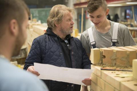 Erhvervslivet kan glæde sig over, at flere unge vælger en erhvervsuddannelse i Randers.