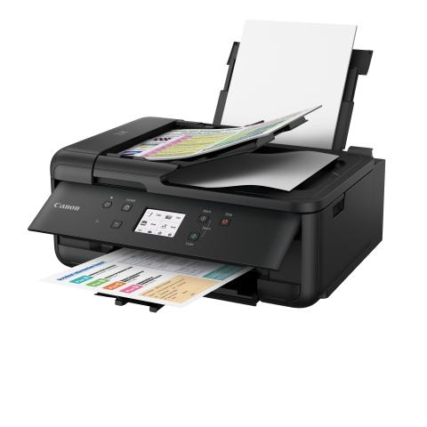 PIXMA TR7550  BLACK Paper tray Up FSL 03