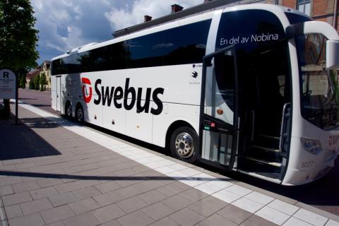 Swebus: Karlstad är bästa expressbusshållplatsen i Värmland