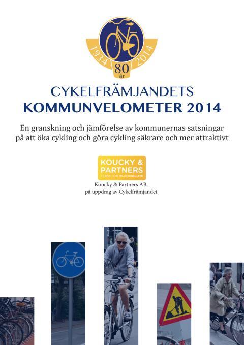 Cykelfrämjandets kommunvelometer 2014