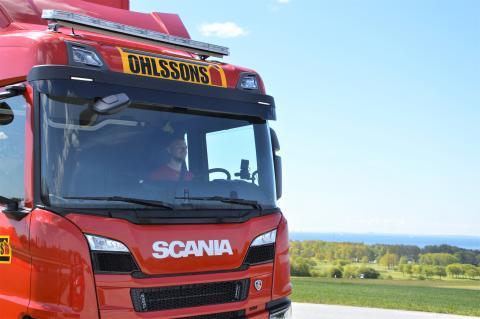 Adrian - en av Ohlssons lastväxlarchaufförer