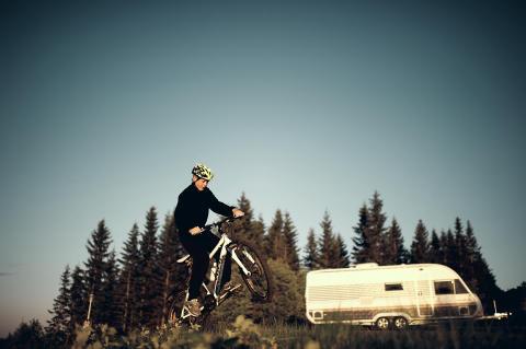 Solifer husvagn - cykel