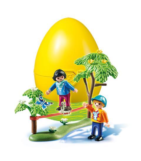 Geheimtipp für alle Osterhasen: Geschenk-Eier mit PLAYMOBIL-Überraschung