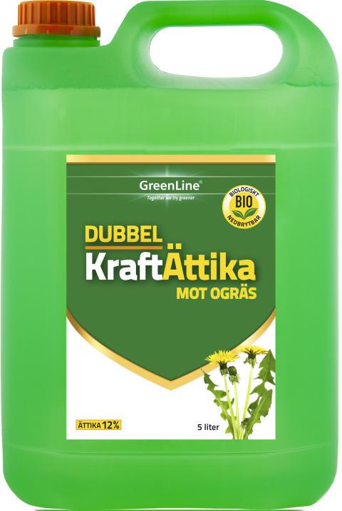 Dubbel Kraft Ättika 5l