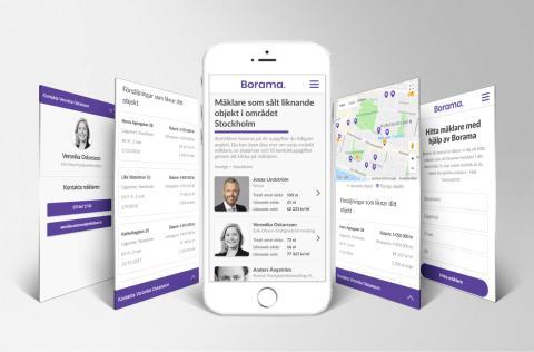 Ny digital plattform hjälper dig att hitta de bästa fastighetsmäklarna