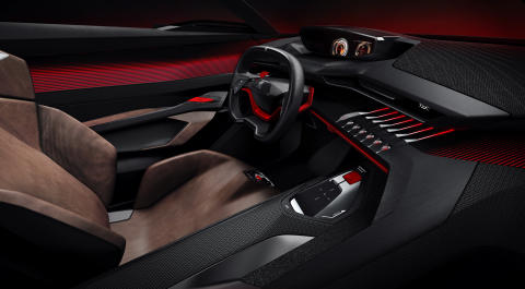 Peugeot Quartz Concept _i-Cockpit