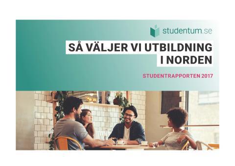 Så väljer unga utbildning i Norden