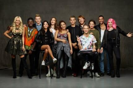 Idolfinalisterna i Haninge Centrum
