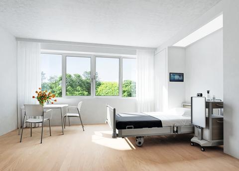 Schüco SmartActive - Innovativ løsning for hygienesensible bygningsområder