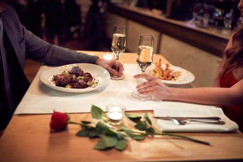 Här är de tio mest romantiska restaurangerna inför Alla hjärtans dag