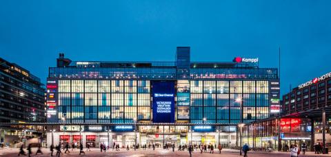 Cushman & Wakefield rådgivare till TH Real Estate i förvärv av ledande köpcentrum i Helsingfors, Finland