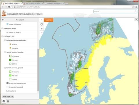 NPD wins map price on the Norwegian Esri UC
