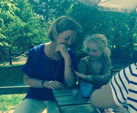 Maria Arnholm besökte Mölnlycke International