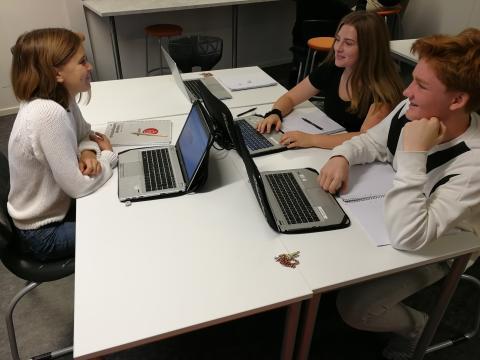 Att resonera ger bättre utveckling i matte på Erlaskolan i Falun