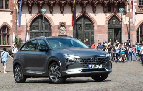 Hyundai starter salget av helt nye NEXO