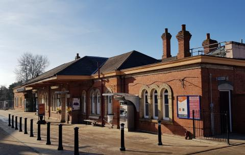 Friends, Romans, Passengers, lend me your ears: Stratford-upon-Avon station is getting a refurb