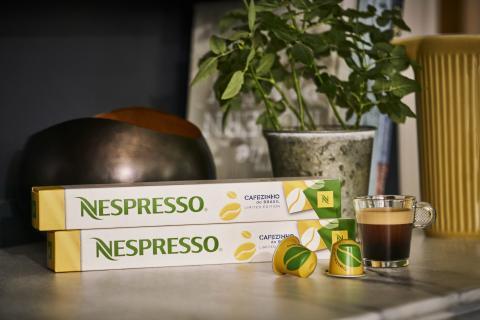 NESPRESSO BJUDER IN TILL EN DJUPARE SMAK AV BRASILIEN MED NYA LIMITED EDITION CAFEZINHO DO BRASIL