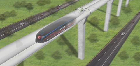 MTR Express huvudpartner till KTH-studenters Hyperloop-projekt