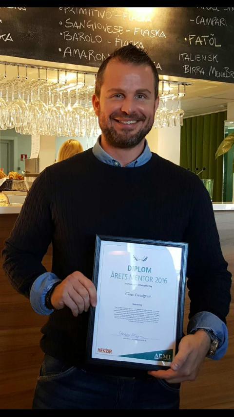 Almi utser Årets Mentor i Västernorrland