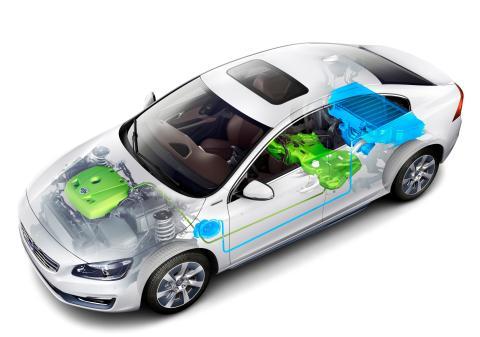 Plug-in hybrid electric car
