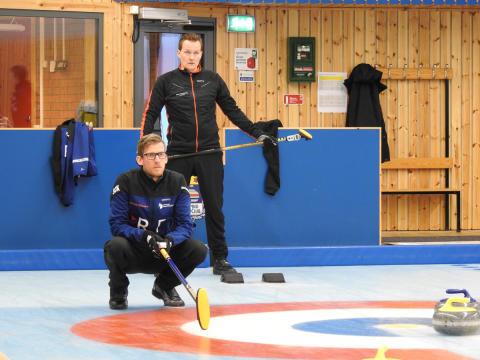Curling-SM har startat i Jönköping