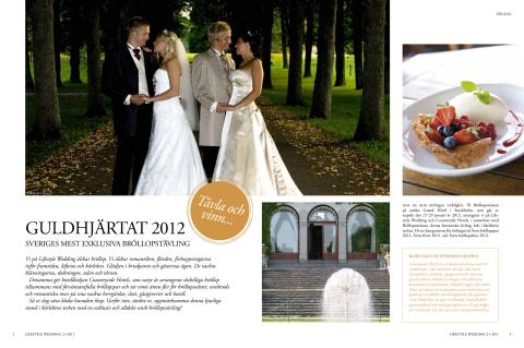 Artikel om Countryside Hotels i Lifestyle Wedding