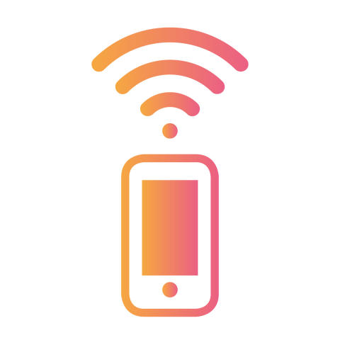 Wifi-samtal icon