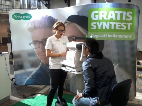 Specsavers Gratis syntest-turné 2