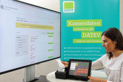 DATEV und CAS automatisieren den Datenfluss aus der Kasse