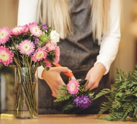Inforamtionsträff för yrkesvux floristutbildning