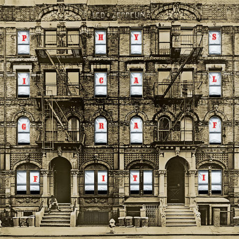 Led Zeppelin släpper nyutgåva av Physical Graffiti den 24 februari