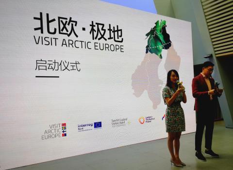 Arctic Europe är hett – på kinesisk resemarknad